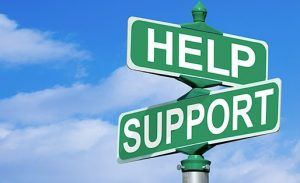 Help and Support Signs
